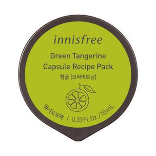 Innisfree - 【おまとめ割】カプセルレシピパック GTG / タンジェリン / 10mL