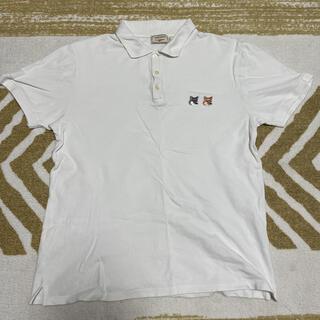 メゾンキツネ(MAISON KITSUNE')のMAISON KITSUNE メゾン キツネ ダブルフォックスヘッド ポロシャツ(ポロシャツ)