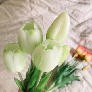 フランフラン(Francfranc)の造花チューリップ ホワイト(その他)