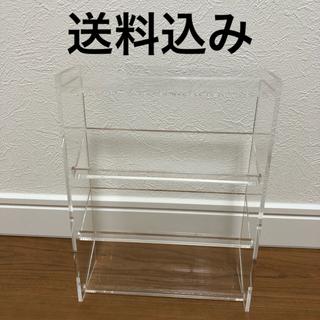 ムジルシリョウヒン(MUJI (無印良品))の無印良品 アクリルボトルスタンド 3段 収納(ケース/ボックス)