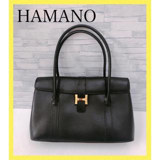 濱野皮革工藝/HAMANO - 希少♡HAMANO  濱野 ハマノ ハンドバッグ ショルダーバッグ
