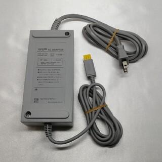 ウィーユー(Wii U)の任天堂純正 WiiU 本体用ACアダプター WUP-002(その他)