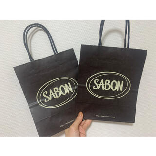 サボン(SABON)のサボン ショッパー 紙袋(ショップ袋)