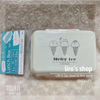 SNOOPY - SNOOPY♡スヌーピー GEL・COOL デリランチボックス 500ml