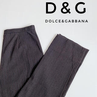 ドルチェアンドガッバーナ(DOLCE&GABBANA)の【DOLCE&GABBANA】ストライプ柄パンツ(カジュアルパンツ)