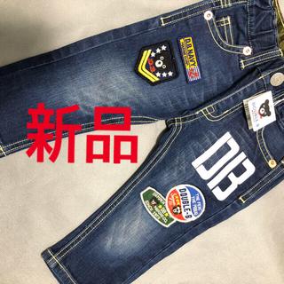 ミキハウス(mikihouse)の新品 ミキハウス ダブルb ズボン サイズ80(パンツ)