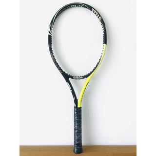 ウィルソン(wilson)の美品/ウィルソン『プロオープン PRO OPEN BLX 100』テニスラケット(ラケット)
