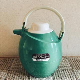 象印 - 未使用 象印 ポット きゅうす VJ-1000 グリーン 魔法瓶