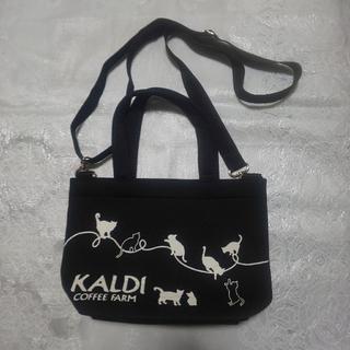 カルディ(KALDI)のカルディネコの日トートバッグ(トートバッグ)