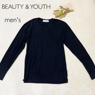 ビューティアンドユースユナイテッドアローズ(BEAUTY&YOUTH UNITED ARROWS)のカットソー BEAUTY&YOUTH(Tシャツ/カットソー(七分/長袖))