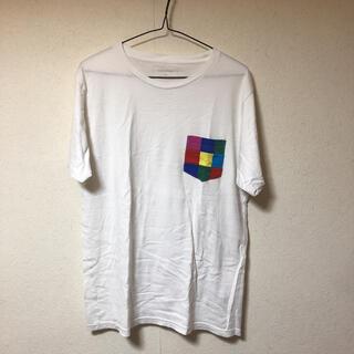 ユニフォームエクスペリメント(uniform experiment)のユニフォームエクスペリメント Tシャツ 3 フラグメント 白(Tシャツ/カットソー(半袖/袖なし))