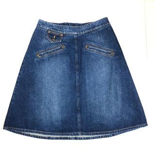 シーバイクロエ(SEE BY CHLOE)のデニムスカート(ひざ丈スカート)