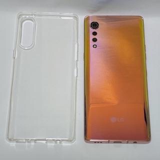 LG Electronics - グラデーションが綺麗な薄型スマホ!LG Velvet 本体とケースのみ