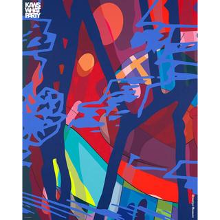 KAWS Poster SCORE YEARS カウズ ポスター(絵画/タペストリー)