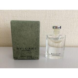BVLGARI - ミニ香水 BVLGARI ブルガリ プールオム オードトワレ (4mL)