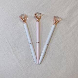 フランフラン(Francfranc)のボールペン チャーム付き 3本(ペン/マーカー)