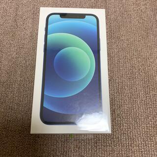 アイフォーン(iPhone)のiPhone 12 ブルー 64GB SIMフリー 新品未開封品④(スマートフォン本体)