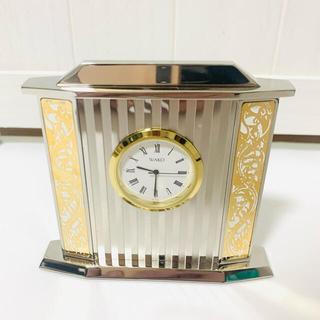 ワコウドウ(和光堂)の未使用 WAKO ワコー クロック 置き時計 銀座和光(置時計)