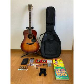 ヤマハ(ヤマハ)のYAMAHA LL-6JS ケース、カポ、チューナー、弦3張、メンテナンスセット(アコースティックギター)