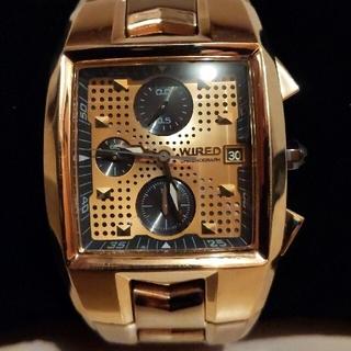 ワイアード(WIRED)のWIRED 腕時計  AVAG016 Xドット(腕時計(アナログ))