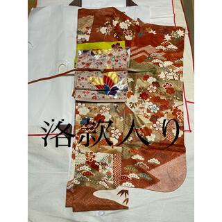 京都作家誂え正絹振袖と、袋帯セット(振袖)