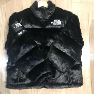 Supreme - supreme thenorthface fur nuptse Mサイズ