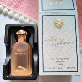 ジャガー(Jaguar)の未使用 ミス ジャガー オーデトワレ ミニボトル 5ml(香水(女性用))