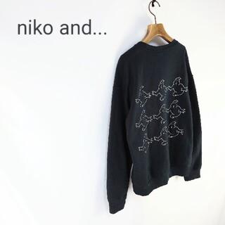 ニコアンド(niko and...)のniko and…【ゴーストバスターズ】別注9匹プルオーバー(スウェット)