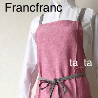 フランフラン(Francfranc)のフランフラン エプロン レッド(その他)