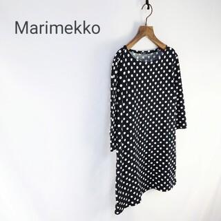 マリメッコ(marimekko)のmarimekko ドット柄 チュニックワンピース(チュニック)