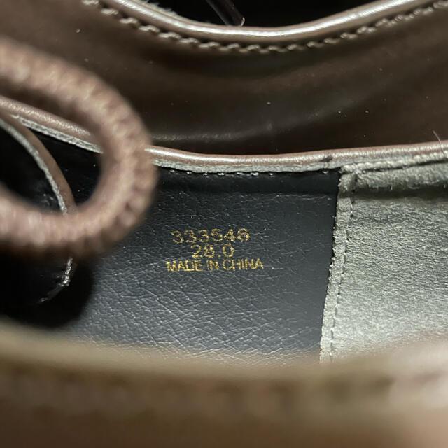 UNDERCOVER(アンダーカバー)のgu undercover ラウンドトゥシューズ 28cm メンズの靴/シューズ(ドレス/ビジネス)の商品写真