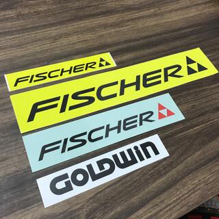 GOLDWIN - Goldwin Fischer Ski ステッカー4点セット