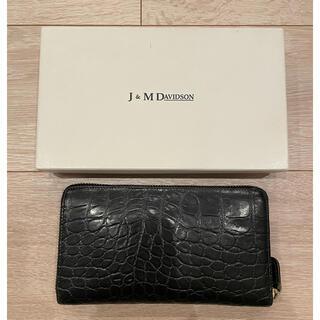 ジェイアンドエムデヴィッドソン(J&M DAVIDSON)のJ & M DAVIDSON 長財布(財布)