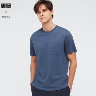 ユニクロ(UNIQLO)のユニクロ theory エアリズムカノコ スリムフィットTシャツ(半袖)(Tシャツ/カットソー(半袖/袖なし))