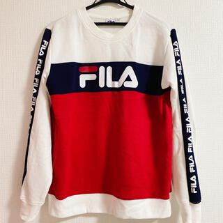 フィラ(FILA)のFILA  トレーナー  白・赤・紺(トレーナー/スウェット)
