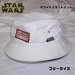 ディズニー(Disney)の【STAR WARS×アンティクローズ】 ホワイトバケットハット (ハット)