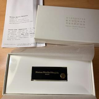 マルタンマルジェラ(Maison Martin Margiela)のmaison martin margiela 13ライン アドレス帳型キーリング(キーホルダー)