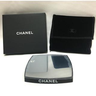 シャネル(CHANEL)のシャネル ノベルティ コンパクトミラー   手鏡   両面ミラー【非売品】(ノベルティグッズ)