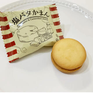カルディ(KALDI)の塩バタかまん 個包装 6個(菓子/デザート)