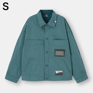 ジーユー(GU)のGU ミハラヤスヒロ MIHARA シェフジャケット S Blue ブルー(その他)