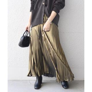 シップスフォーウィメン(SHIPS for women)のSHIPS WOMEN シャイニープリーツスカート(ロングスカート)