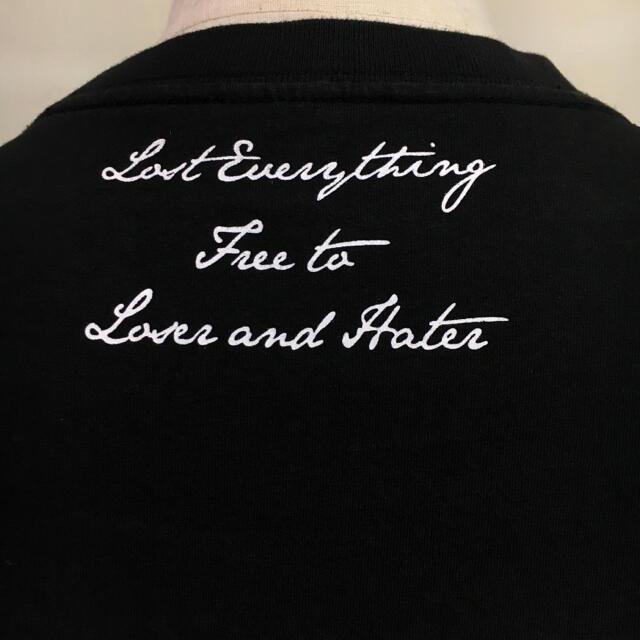 WANIMA(ワニマ)のLEFLAH  レフラー ◆ブランドロゴ Tシャツ TEE◆ブラック Lサイズ メンズのトップス(Tシャツ/カットソー(半袖/袖なし))の商品写真