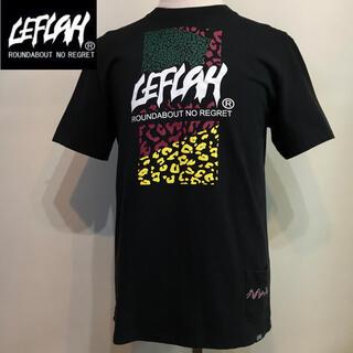 ワニマ(WANIMA)のLEFLAH  レフラー ◆ブランドロゴ Tシャツ TEE◆ブラック Lサイズ(Tシャツ/カットソー(半袖/袖なし))