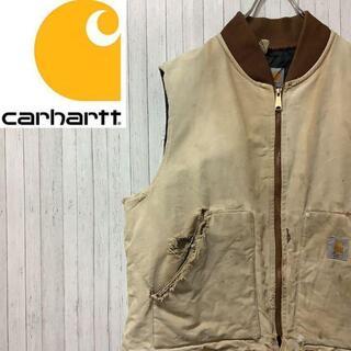 carhartt - カーハート ダックベスト ダックジャケット キルティング 中綿 ビッグサイズ