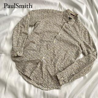 ポールスミス(Paul Smith)の☆美品 PaulSmith ポールスミス シャツ 花柄 総柄 長袖 Lサイズ(シャツ/ブラウス(長袖/七分))
