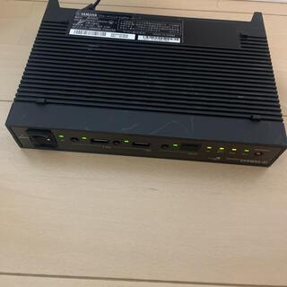 ヤマハ(ヤマハ)のYamaha ヤマハ NVR 500ブロードバンドVoIPルーター 複数あり(PC周辺機器)