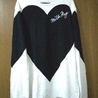 MILKBOY HEART L.S. Tシャツ