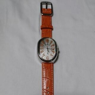 Angel Heart - エンジェル ハート 腕時計 時計 革 ベルト オレンジ 楕円形 アクセサリー