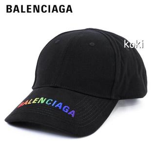 Balenciaga - BALENCIAGAキャップLサイズ58cmレインボーライン