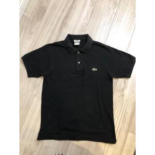 ラコステ(LACOSTE)のラコステ ポロシャツ 黒(ポロシャツ)